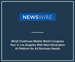 Press Release - Winjit Continues Mobile Worl Congress
